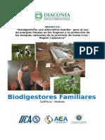 Cartilla Biodigestores - Instalación, Operación y Mantenimiento DIACONÍA - Copia