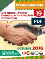 Revista El Prevencionista 19ava Edición