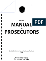 Revised Manual for Prosecutors 2008