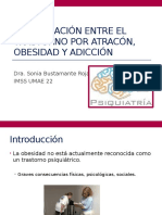 La Asociación Entre El Trastorno Por Atracón, Obesidad y Adiccion