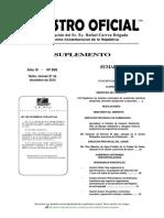 Acuerdo 142 Listado Desechos Registro Oficial