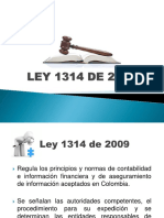 Ley 1314 de 2009