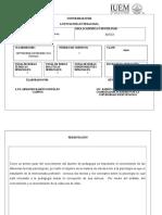 Plan Clase Introducción a La Psicología Sab. (1)