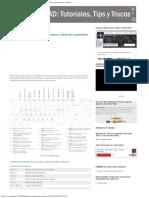 AutoCAD Tutoriales, Tips y Trucos Lista de Combinaciones de Teclas y Alias de c