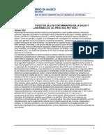 Descripcion de contaminantes atmosféricos y Efectos en La Salud
