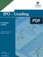 DB Realty Ltd IPO Crisil Report