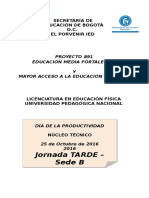 Dia de La Productividad 2016 Sede b j Tarde Version Final