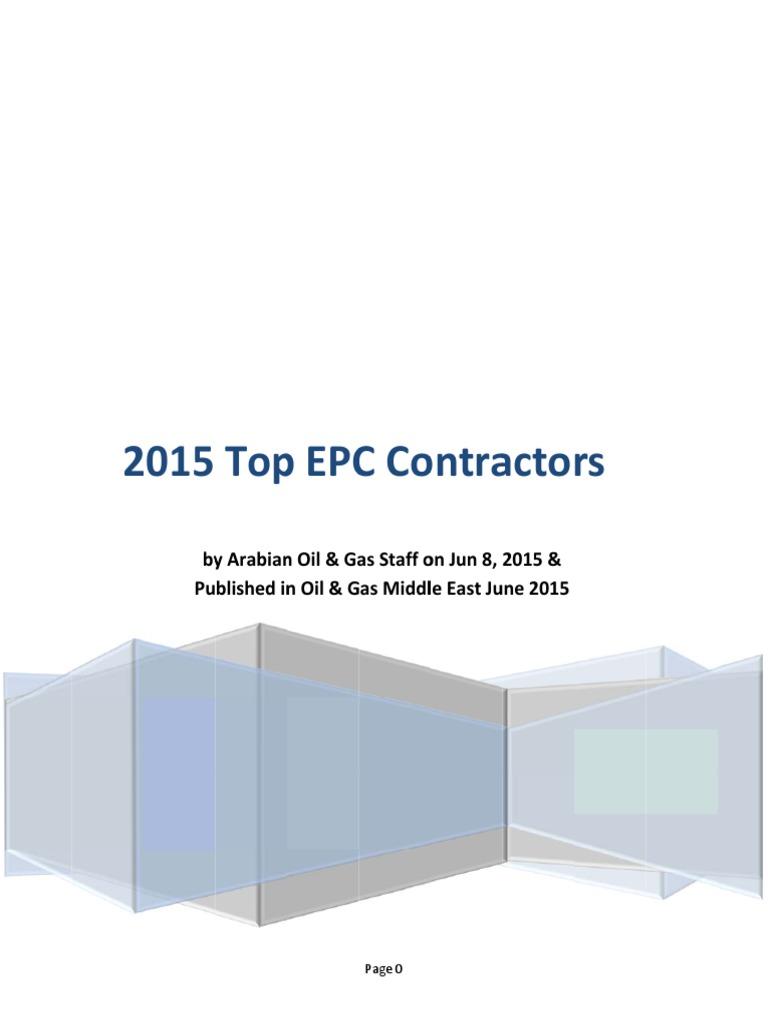 66-2015 Top EPC Contractors   Liquefied Natural Gas   Petroleum