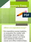 Expository Essay 1