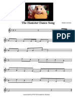 """The Hamster Dance Song"" sheet music"