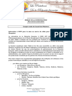 Compte Rendu Du Conseil Des Ministres - Mercredi 26 Octobre 2016