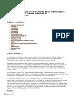 Guía Clínica de Profilaxis Postexposición y Tratamiento de Las Enfermedades Virales Transmisibles Durante El Embarazo 2014
