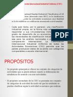 Clasificación Internacional Industrial Uniforme (CIIU).pptx