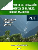 PROBLEMATICA DE LA EDUCACION EN LA PROVINCIA DE FAJARDO-AYACUCHO PDF