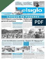 Edición Impresa Elsiglo 27-10-2016