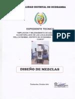 13.6 Diseño de Mezclas