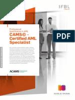 ACAMS - Certified AML Specialist 2016