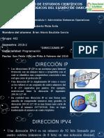 Presentacion Direcciones Ip
