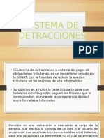Sistema de Detracciones Power Point