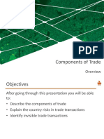3 Components of Trade