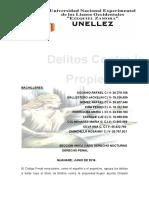 Informe Penal. Delito Contra Las Personas