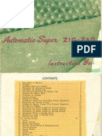 Automatic Super Zig-Zag - Manual