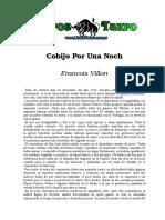 Villon, Francois - Cobijo Por Una Noche