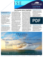 Cruise Weekly for Thu 27 Oct 2016 - Eclipse lures new market, ScenicSINGLEQUOTEs first $2m agency, CLIA agents master sales at sea, Chimu Adventures, Royal Caribbean Cruises and much more