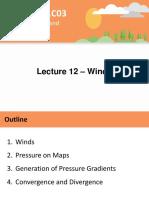 Lecture 12 - Winds - A2L