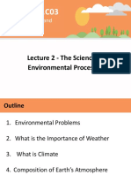 Lecture 2 - The Science of Environmental Processes