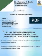 La Administración Pública Local y Municipal (Exposicion)