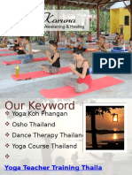 Yoga Teacher Training Thailand