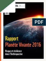 27102016 Lpr 2016 Rapport Planete Vivante