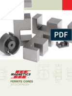 Magnetics 2013 Ferrite Catalog