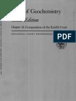 data of geochemistry
