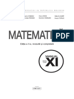 XI Matematica (Moldova)