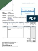 Presupuesto Asesoria Octubre 2016 - 019