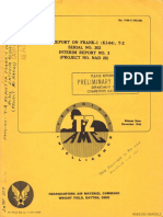 1946 Aaf T-2 Frank Ki-84 Interim Report #3--Secure