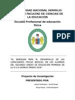 Universidad Nacional Hermilio Valdizán Facultad de Ciencias de La Educación