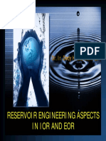 2- Reservoir Aspects in EOR
