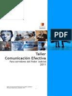 Material Educativo Taller de Comunicación Efectiva