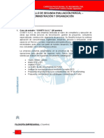 Desarrollo Segunda Evaluación Parcial Civil