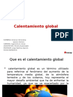 3 Power Point Calentamiento Global