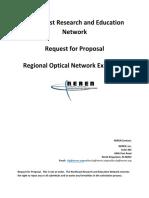 NEREN Regional Optical Network Expansion