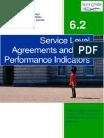 6.2 Service Level Agreements and Key Performance Indicators