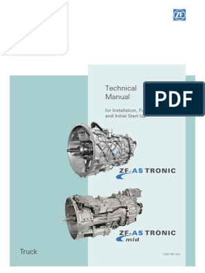 ZF_AS-TRONIC Technical Manual | Manual Transmission | Transmission
