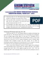BRS IPM Kabupaten Ngada 2015