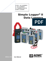 AEMC Simple Logger II Series Manual