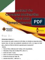 Ejemplo CNS Carreteras Multicarriles Hcm 2010