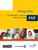 Taking Action - An Advocates Guide to Assisting Victims of Financial Fraud